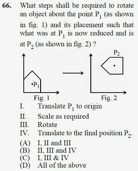 2013 December UGC NET in Computer Science and Applications, Paper III, Question 66