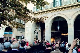Percusión en Independencia.