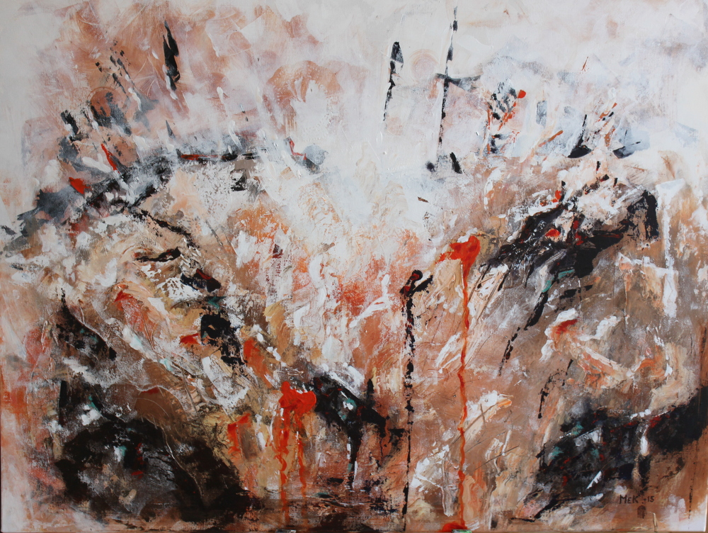 abstrakta tavlor olja
