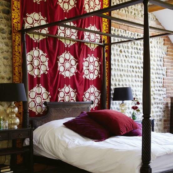 La Maison Boheme: Bold Pattern In The Bedroom