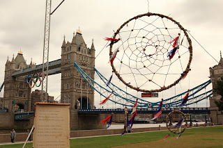Biggest Dream Catcher Freeview World's Largest Dream Catcher Sketch Events 2