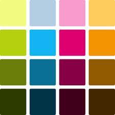 Bingobricka med Färger