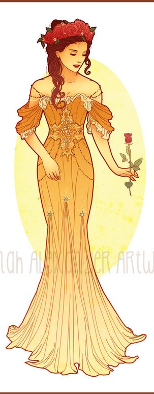 Mucha Princess Belle