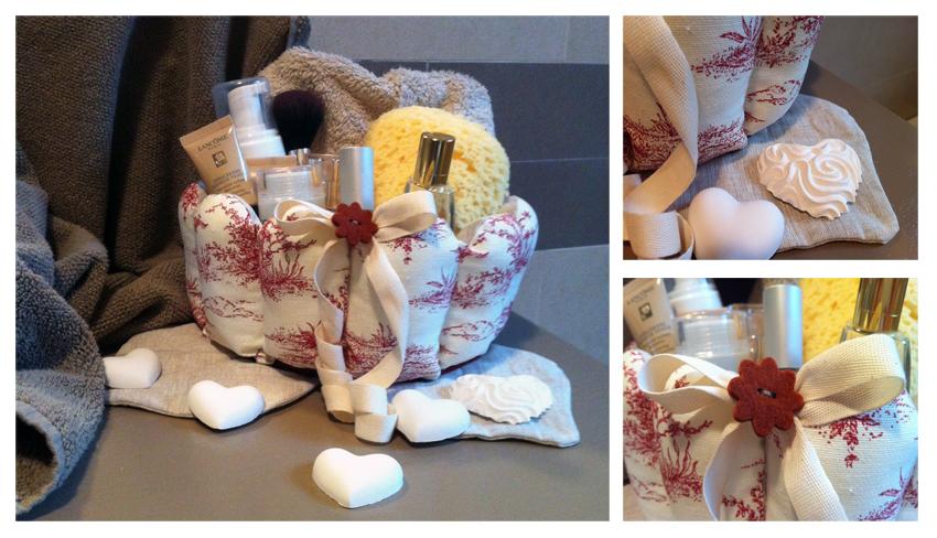 Idee di cotone: Cucito creativo per il mio bagno