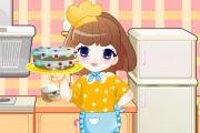 Kız Elinde Pasta Oyunu