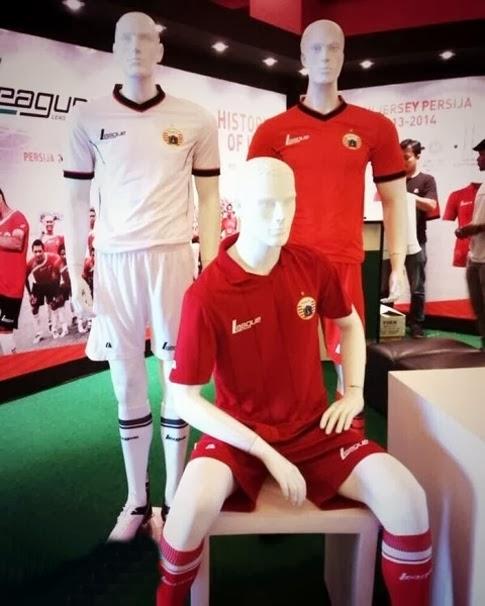 Jersey Persija Home Liga Indonesia Terbaru di ISL