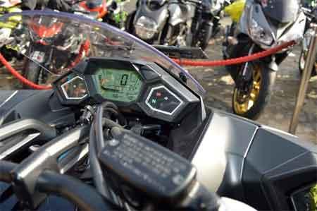 speedometer Honda NM4 Vultus