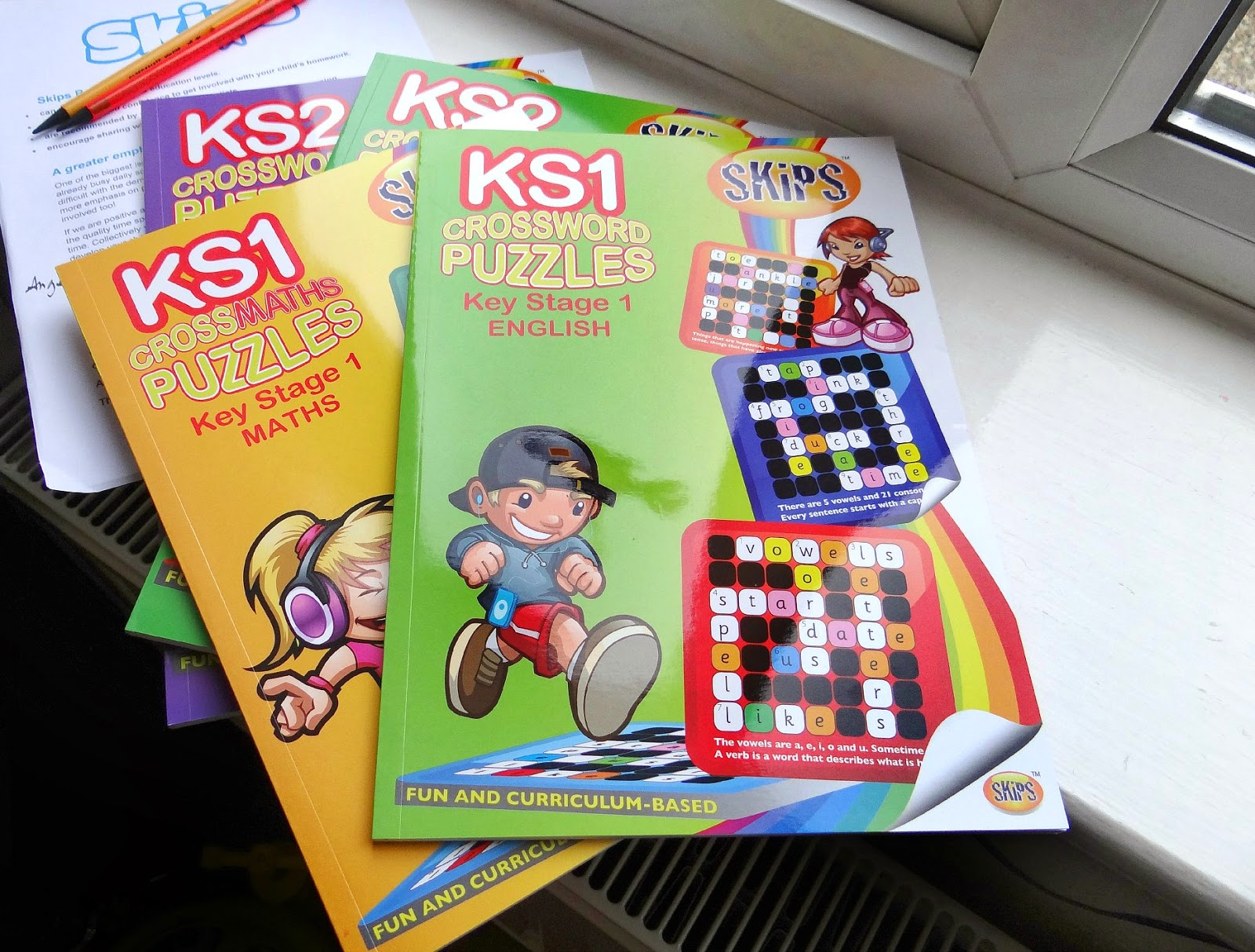 primary school resources, crossword puzzle for kids, homeschooling exercise books
