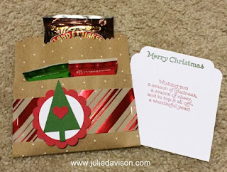 12 Days of Christmas Teacher Gifts featuring Stampin' Up! Oh What Fun Tag Kit #stampinup www.juliedavison.com