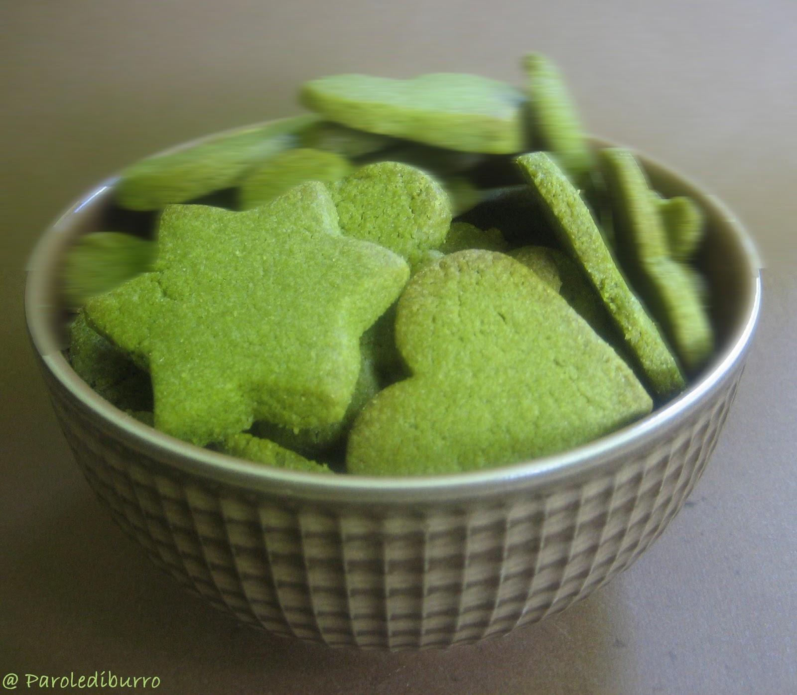 Estremamente Yokosò: Biscotti al Tè verde - ricetta HH66