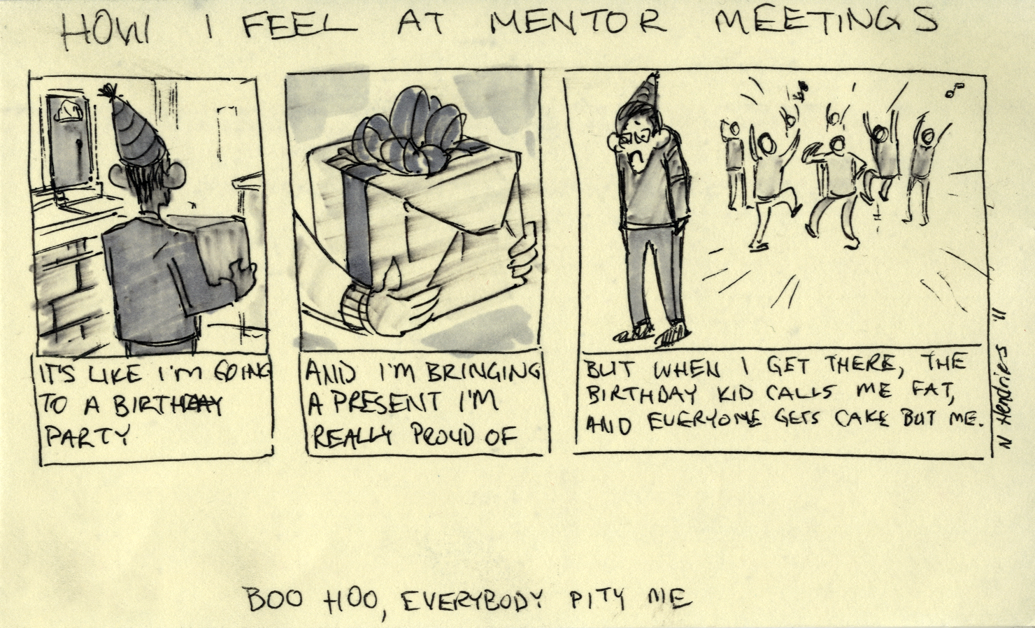 mentor meetings So, you have a found a mentor for yourself, you have spoken to the person once or twice, and finally you have set up an appointment to meet up for a one-on-one mentoring session.