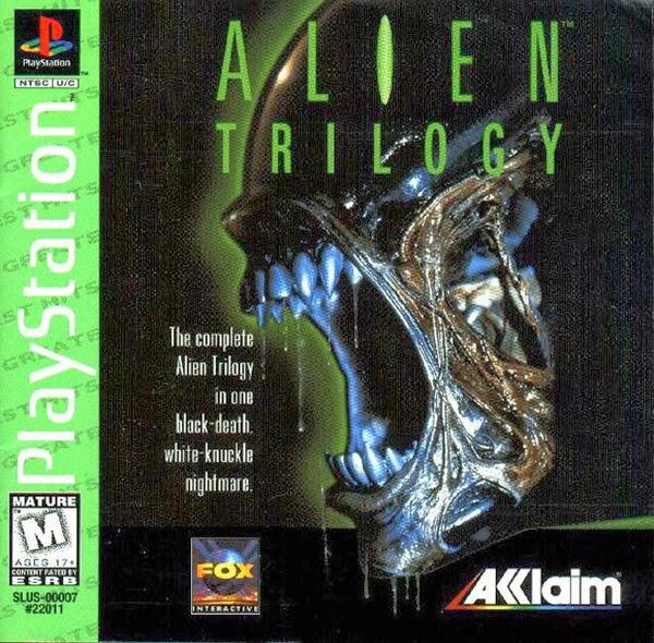Alien Trilogy[PSX][PL]
