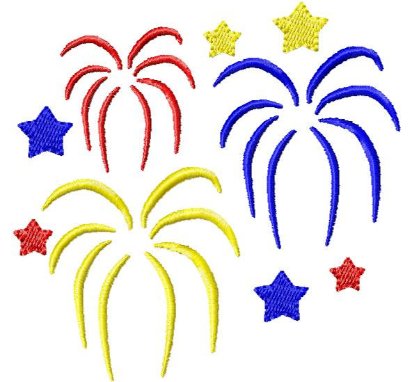 4th Of July Clip Art Fireworks Images & Pictures - Becuo