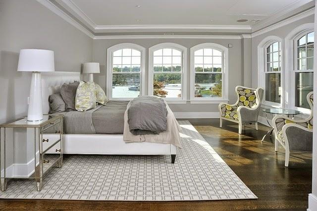 Dormitorios con paredes grises colores en casa for Cuarto color gris