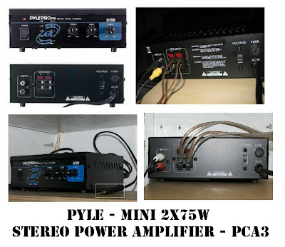 mini stereo power amplifier