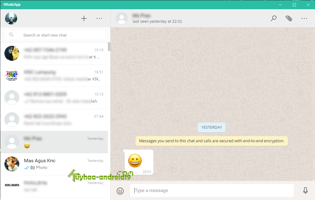 WhatsApp for Windows kuyhaa
