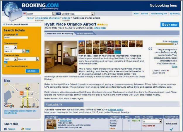 Có nên đặt phòng khách sạn online qua trang Booking.com?