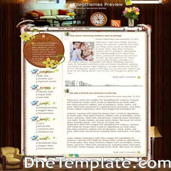 The Only Sunshine blogger template