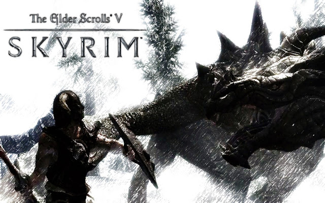 dragon skyrim game