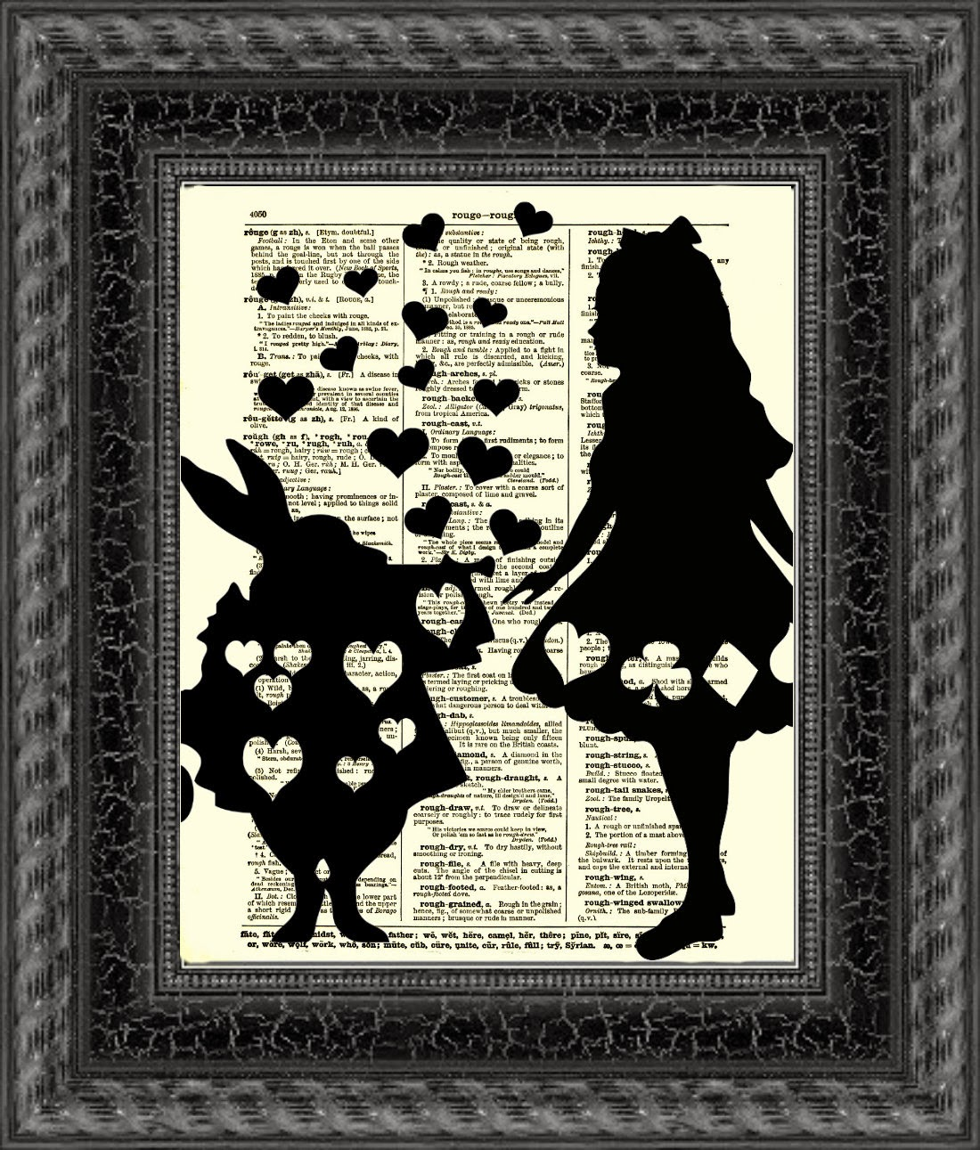 01-Alice-in-Wonderland-Belle-Old-Books-and-Dictionaries-in-Re-Imagination-Prints-www-designstack-co