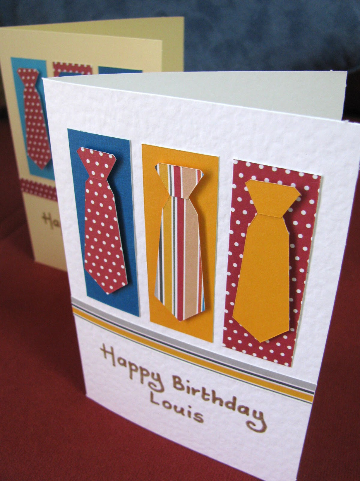 Handmade Birthday Cards For Guys 18 ~ Handmade in israel november