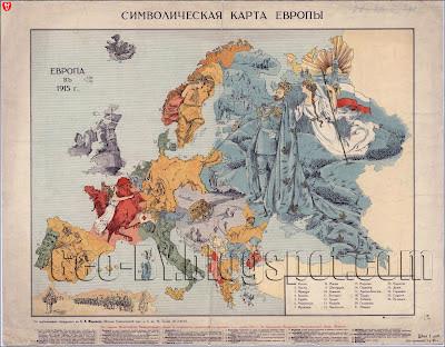 Символическая карта Европы