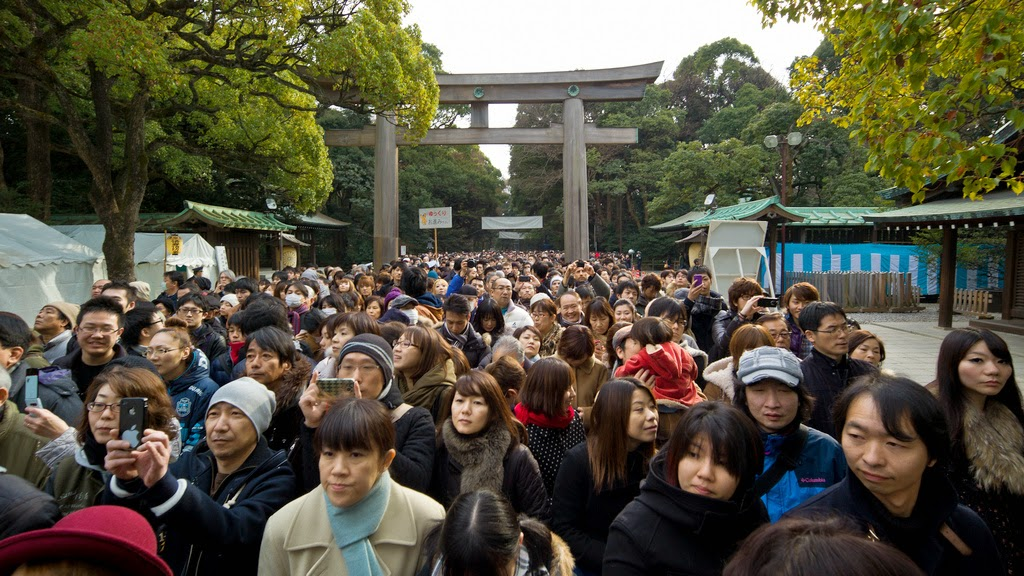 hatsumode en Japón