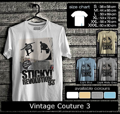 kaos distro vintage couture 3