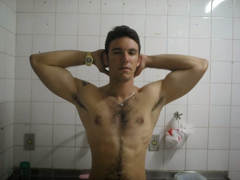 Hairy Jock Pits in the Locker Room