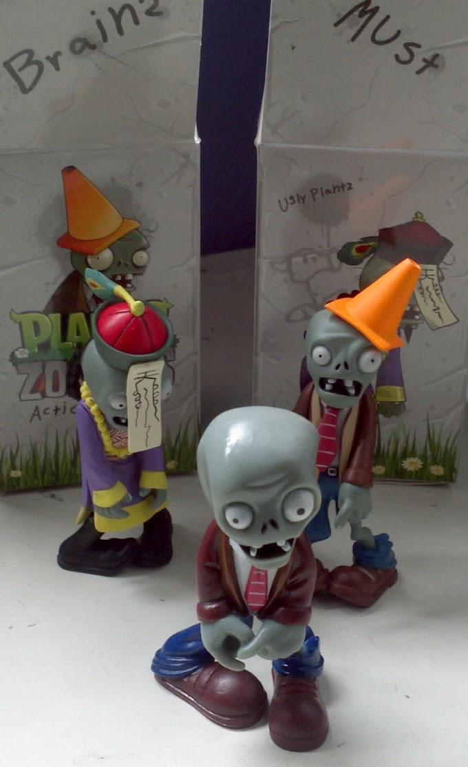 Đồ chơi làm vườn Plants vs Zombies thật