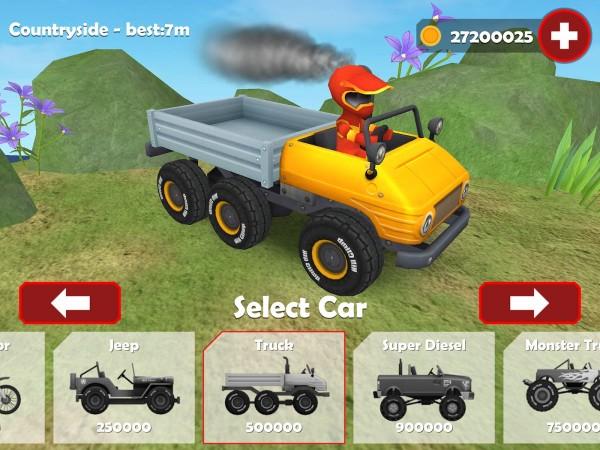 Hill Racing 3D Uphill Rush Apk v1.06 Full Hileli Mod İndir