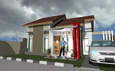 model rumah sederhana type 45