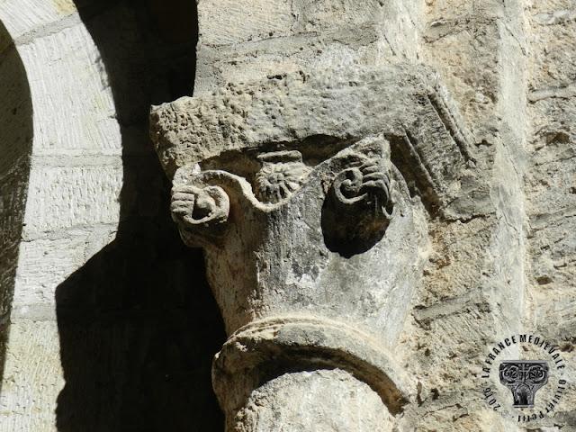 BURLATS (81) - Ancienne collégiale Saint-Pierre (XIIe siècle)