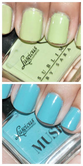 LUSCIOUS LOVES FASHION NAIL COLOR COLLECTION,(Limited edition)