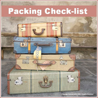 Packing check-list