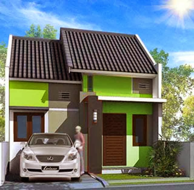 Desain Rumah Gratis Type 21