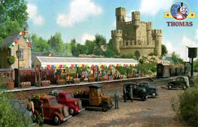 Thomas train Percy and the haunted mine summer branchline station masters enjoy friendly competition