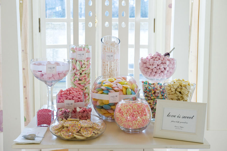 Candy bar tu boda de ensue o - Como hacer un candy bar ...