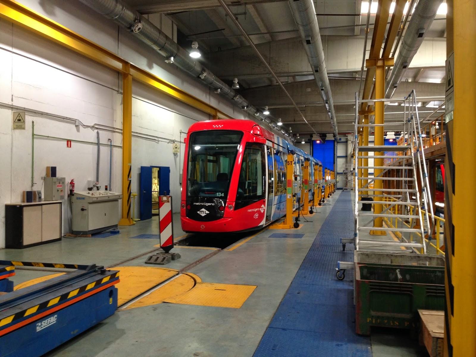 Madrid Ferrocarriles y Transportes Urbanos Lnea ML1 Metro