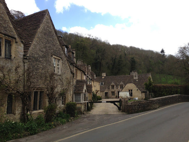 Castle Coombe Village By Brook