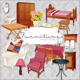Im genes de muebles del hogar clipart recursos photoshop for Muebles del hogar