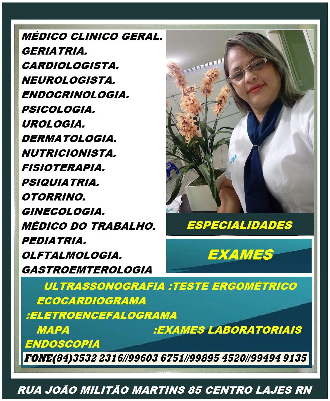 ESPECIALIDADES CLINICA RENASCER