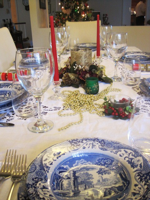 Say G'Day Saturday, Christmas Tablescapes, Natasha in Oz, Christmas, Spode
