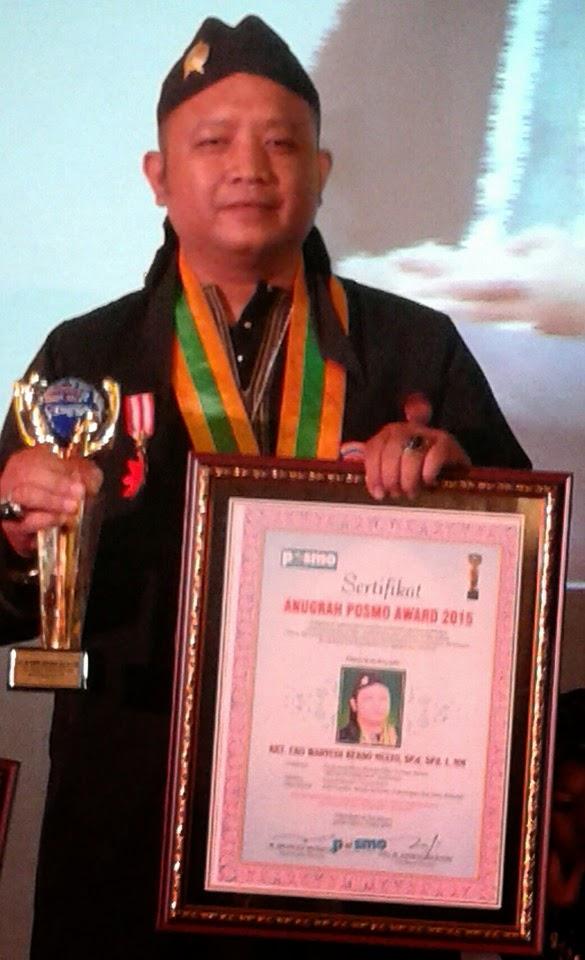 Penganugrahan Posmo award 2015