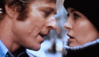 Robert Redford and Faye Dunaway in Three Days of the Condor