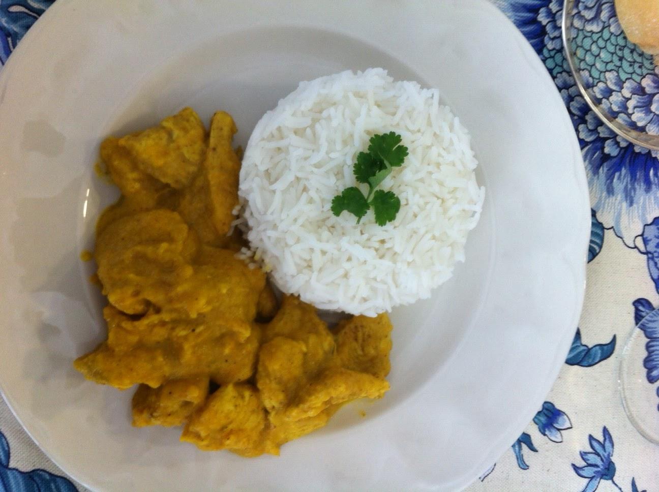 Pollo al curry con arroz basmati (Arguiñano) | Cocina como en casa