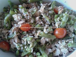 insalata fredda di farro
