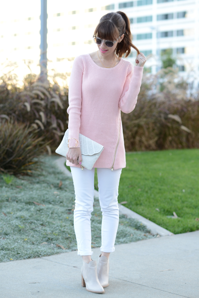 pink GUESS sweater M Loves M @marmar