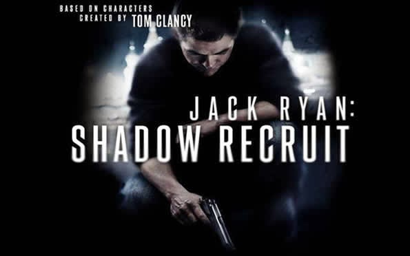 Jack Ryan movie poster banner