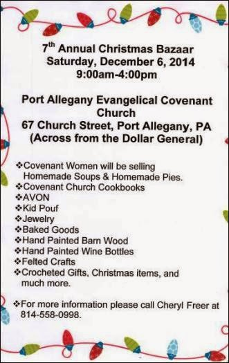 12-6 7th Annual Christmas Bazaar